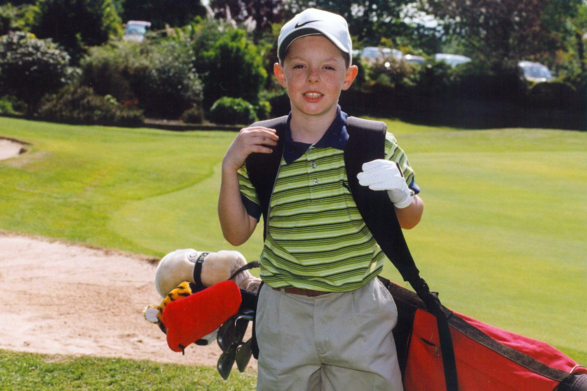 Youngest Member of Holywood golf club
