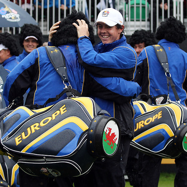 Rory at the Ryder Cup