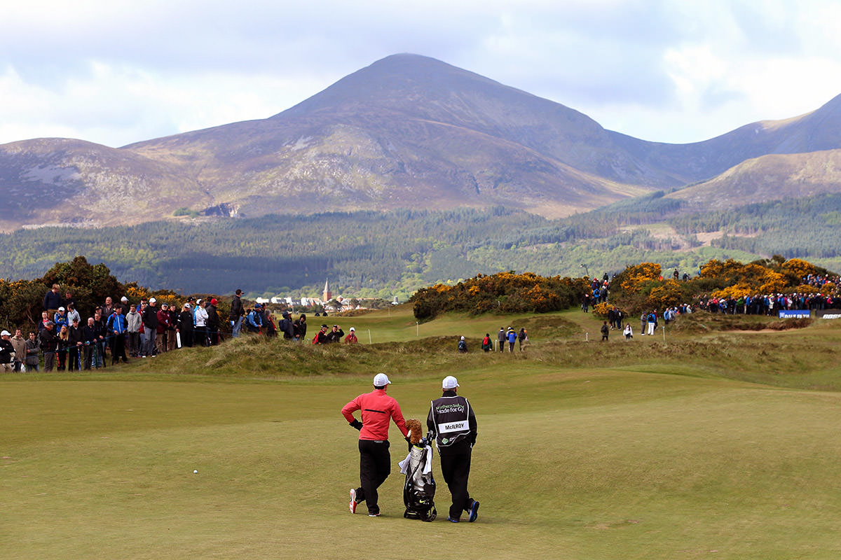 Rory at Royal County Down